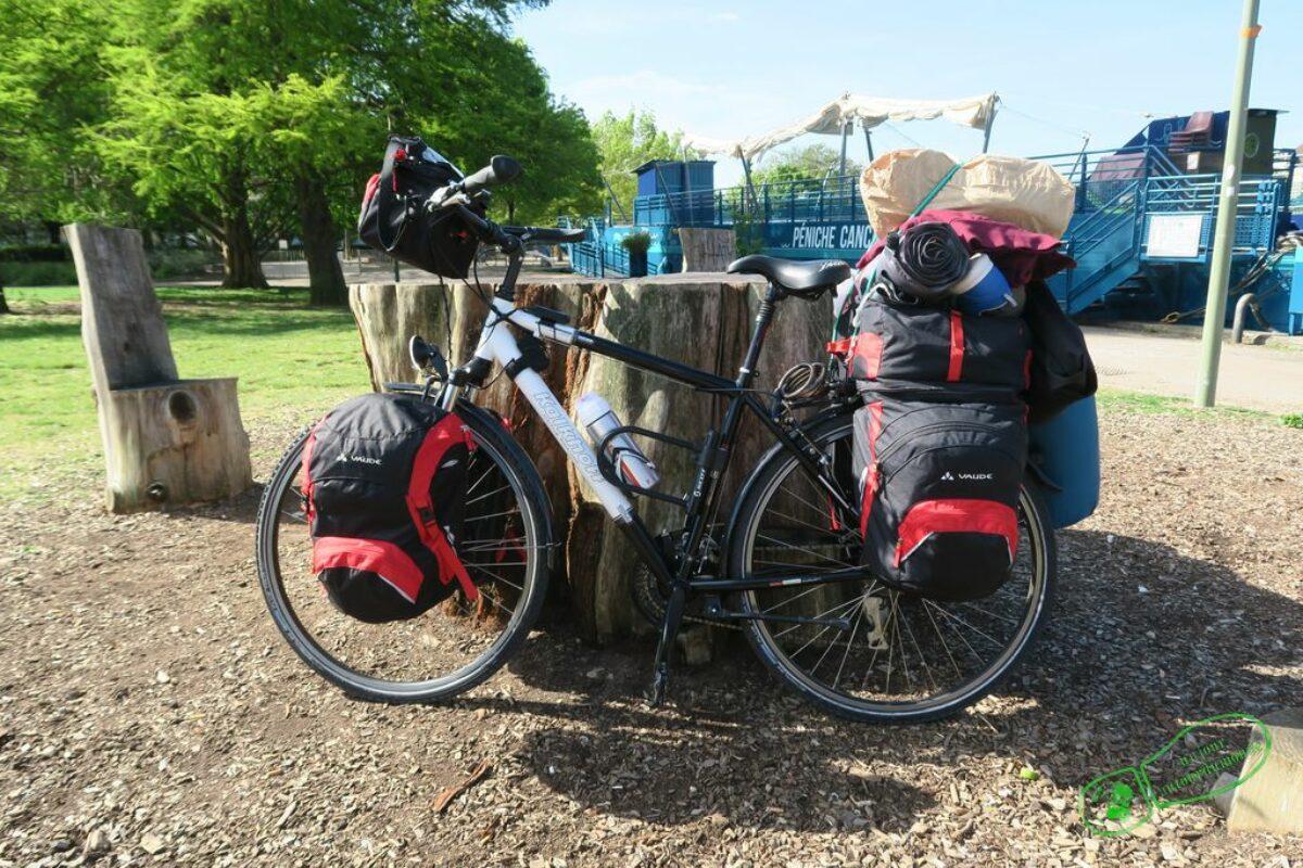 Jour 1 – Départ de mon tour de Bourgogne à vélo