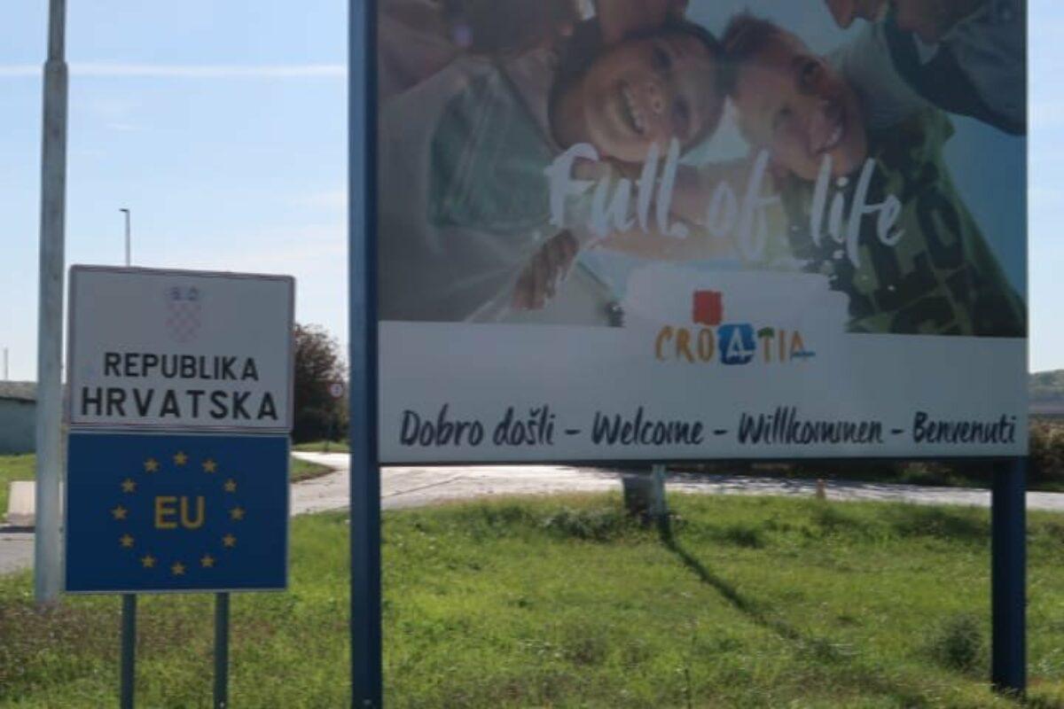 Jour 105 – Frontière Croate