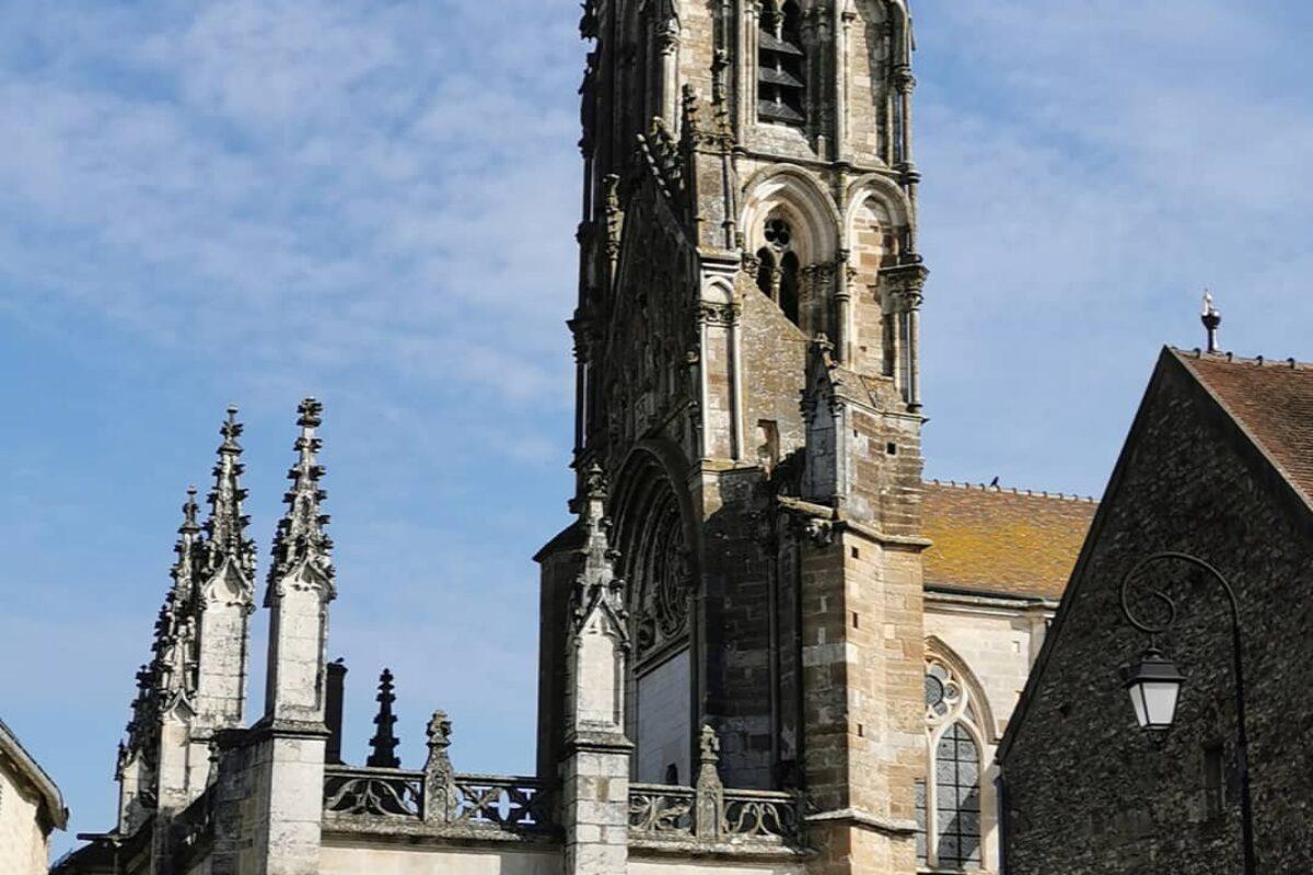 1er jour de pèlerinage – Départ de Vezelay
